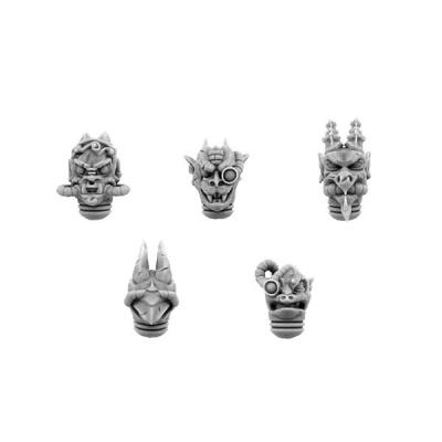 Chaos Gothic Gargoyles Heads (5)