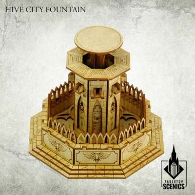 Hive City Fountain