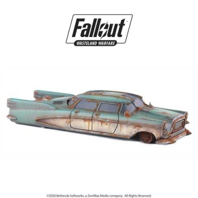 Fallout: Terrain Expansion: Corvega Sedan