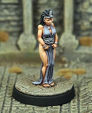 Captive Princess, standing