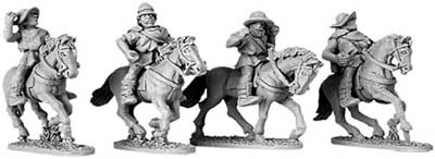 Greek Cavalry with Petasos & Pilos (random 4 of 4