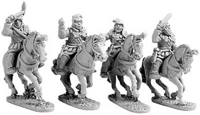 Persian Cavalry in Linen Armour (random 8 of 4 de