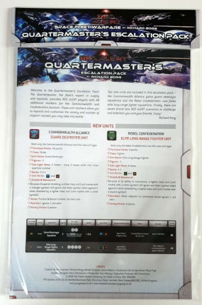 Red Alert: Quartermaster Escalation Pack