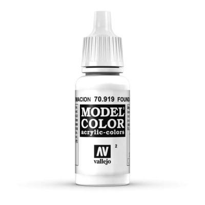 Model Color 002 Untergrund Weiss (Foundation White) (919)