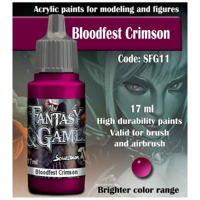 Scalecolor Fantasy 11 Bloodfest Crimson (17ml)
