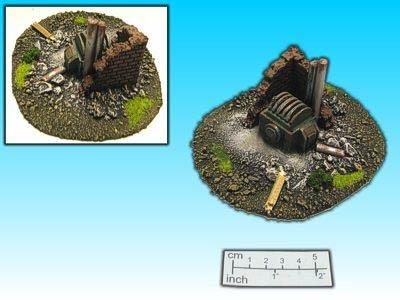 Geländestück Dampfmaschine