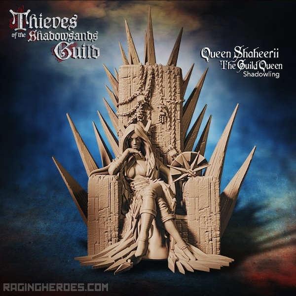 Queen Shaheerii, the Guild Queen (T - F)
