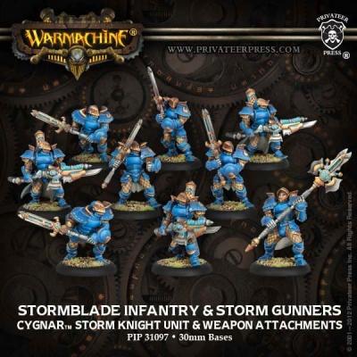 Cygnar Stormblade Infantry Unit (9) Box (plastic)