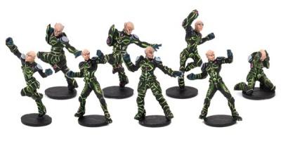 Shan-Meeg Starhawks Team Booster (8)OOP