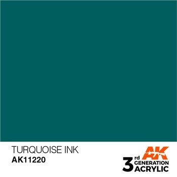 Turquoise INK 17ml