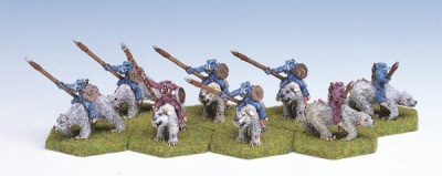 Beastmen Polar Bear Riders (8)