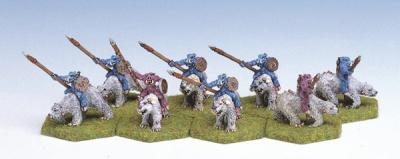 Beastmen Polar Bear Riders (8)