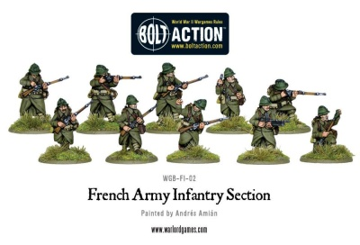 French Army Infantry section (10)