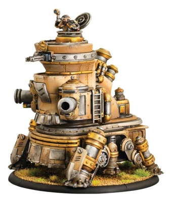 Mercenary Rhulic Battle Engine Hammerfall Siege Crawler