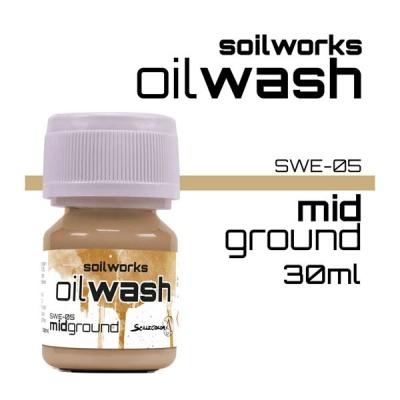 Oil Wash: Mid Ground
