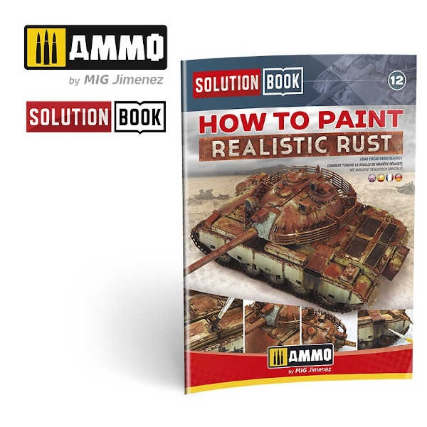 How to Paint Realistic Rust SOLUTION BOOK