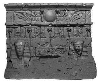 Verschüttetes ägyptische Tor