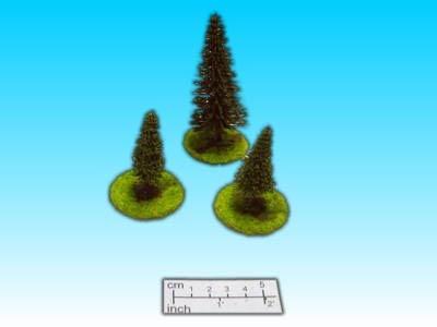 Geländestück Baumset 3 Stck. (15mm)