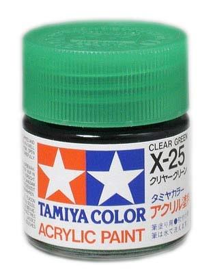 Tamiya Clear X-25 GRÜN