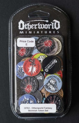 Otherworld Fantasy Skirmish - Set of 56 Tokens