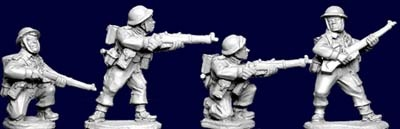 British and Commonwealth Riflemen II (4)