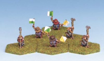 Dwarf Artillery Observers (6)