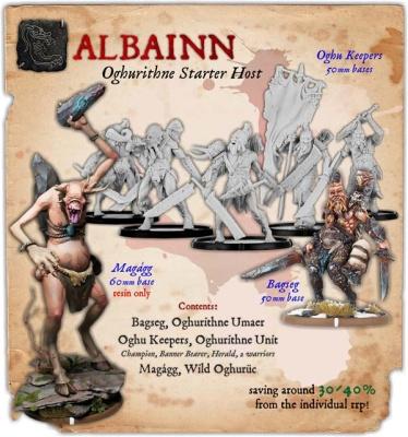Albainn Oghurithne Monstrous Infantry Starter Host