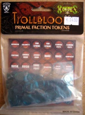 Trollblood Primal Token Set
