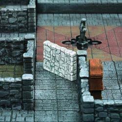 Dunkelstadt - Dungeon Element Gangmauer (3)