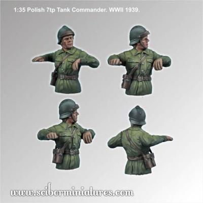 1:35 Polish 7tp Tank Commander #2 (1)