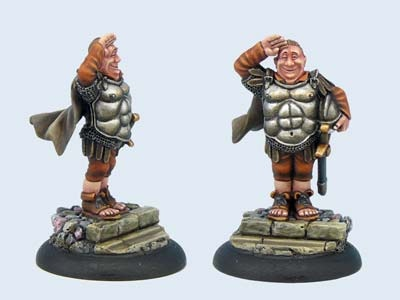 Discworld Miniature Sergeant Fred Colon