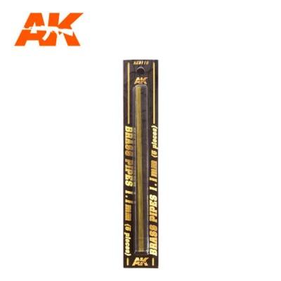 Messingrohre 1,1mm (5)