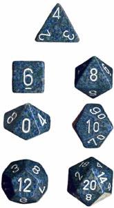 Chessex Sea Speckled 7-Die Set
