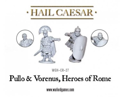 Caesarians Pullo and Vorenus, Heroes of Rome (2)