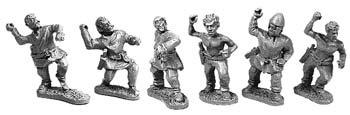 Gallic Skirmishers with Javelin (random 8 of 6 designs)