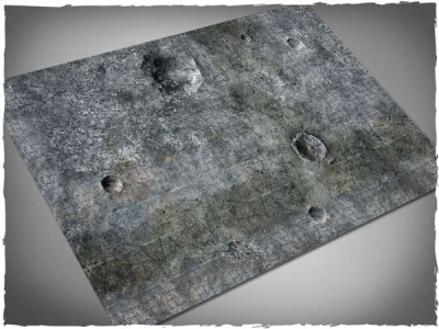 Game Mat - City Ruin 6x4