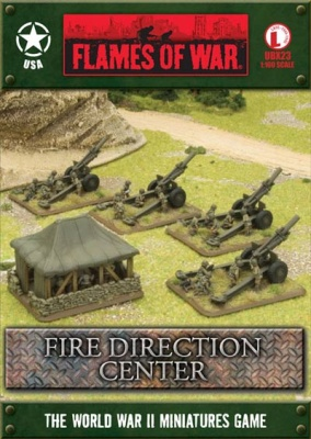Fire Direction Center (FDC), divisional Artillery HQ