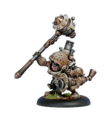 Mercenary Warcaster Durgen Madhammer