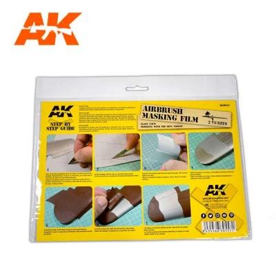AK Airbrushing Masking Film (2)