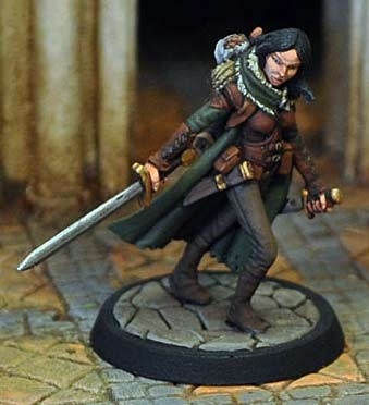 Female Ranger in Leather Armour