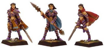 Dunkelelfen Kriegerinnen (3)