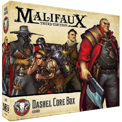 Malifaux (M3E): Dashel Core Box