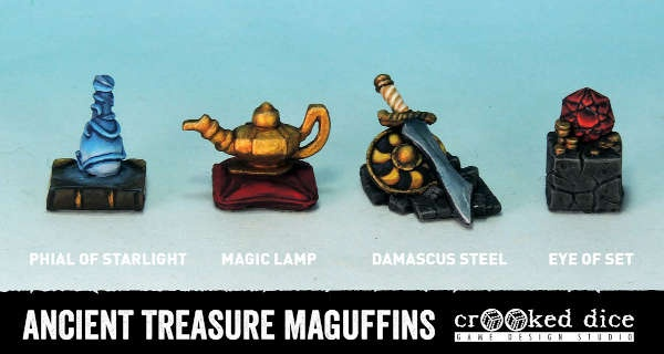 Ancient Treasure Maguffins