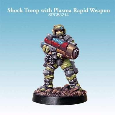 Shock Troop with Plasma Rapid Weapon (1)