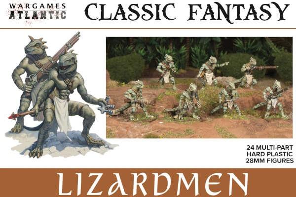 Lizardmen Infantry Box (24)