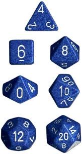 Chessex Water Speckled 7-Die Set