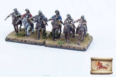 Imperial cuirassiers in armor(6)