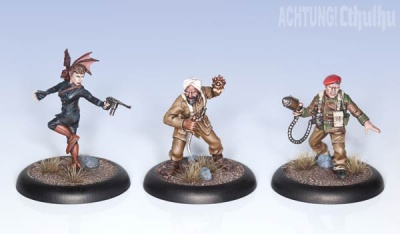 Achtung!Cthulhu - Allied Investigators - Pack 2 (3)