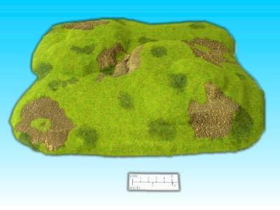 Hügel 1 mit Ebenen
