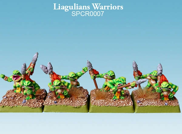 Liagulians Warriors (10mm) (8)